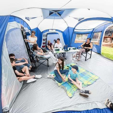 grande tente familiale avec salon