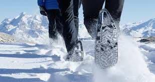 randonnée raquette a neige