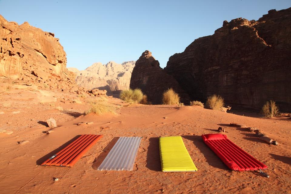 matelas camping trekking