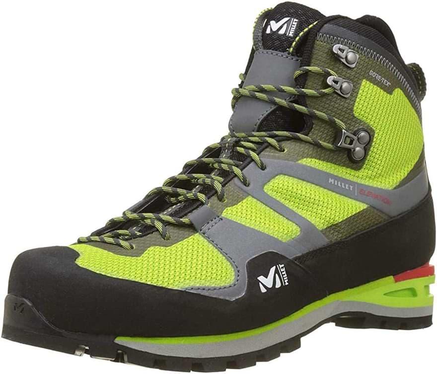 chaussure alpinisme millet haute montagne gore tex imperméable