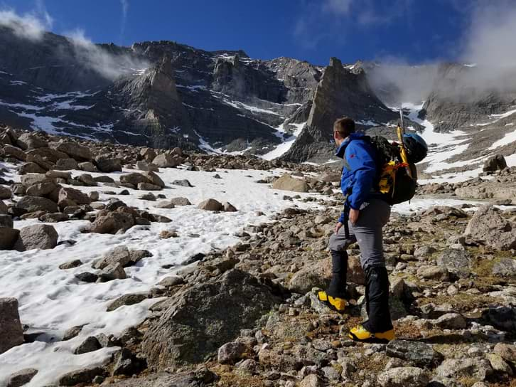 chaussure haute montagne trekking