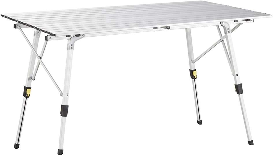 table camping pieds réglable