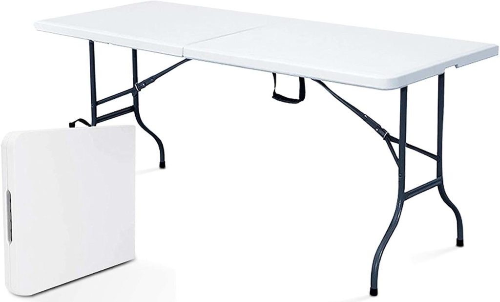 table camping pliante valise