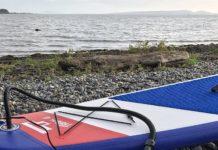 gonfleur électrique paddle pompe air