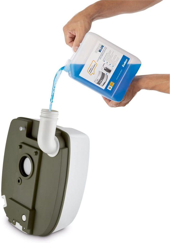 produit bleu wc chimique