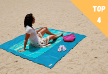 tapis de plage anti sable