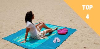 tapis de plage anti sable