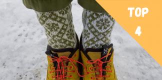 chaussette ski chaude