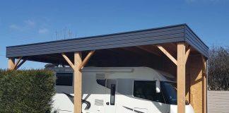 abri carport camping car
