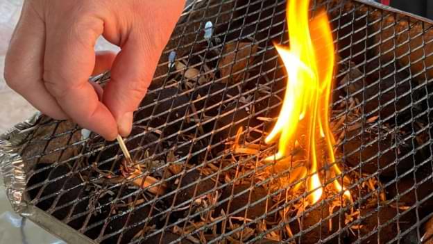 allume feu barbecue jetable