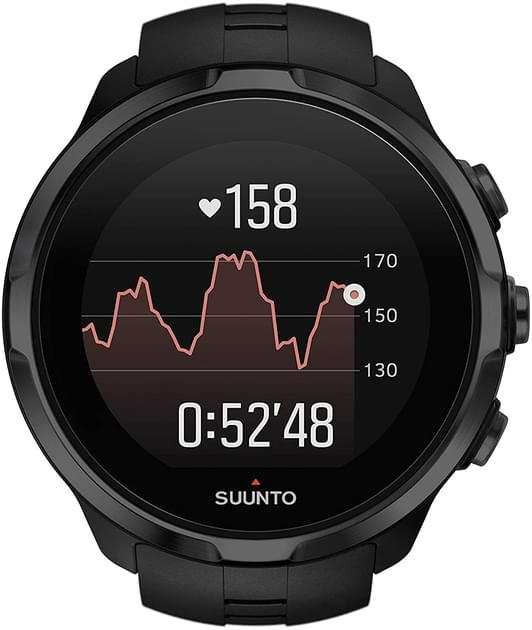 fréquence cardiaque montre montagne