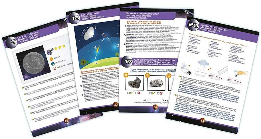 jeux activités lunette astronomie enfant