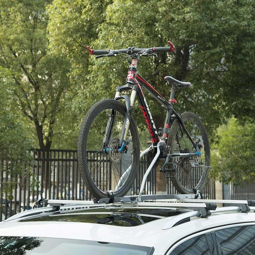 porte vélo sur toit galerie