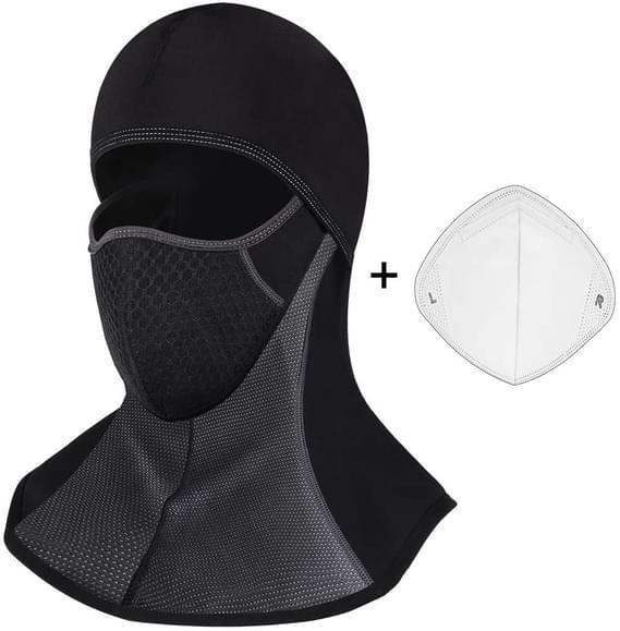 cagoule avec masque intégré anti covid