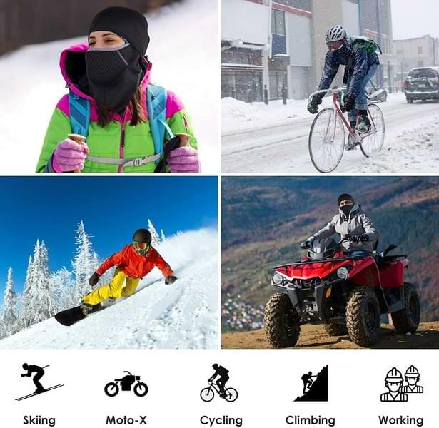 cagoule moto cyclisme travail snow ski