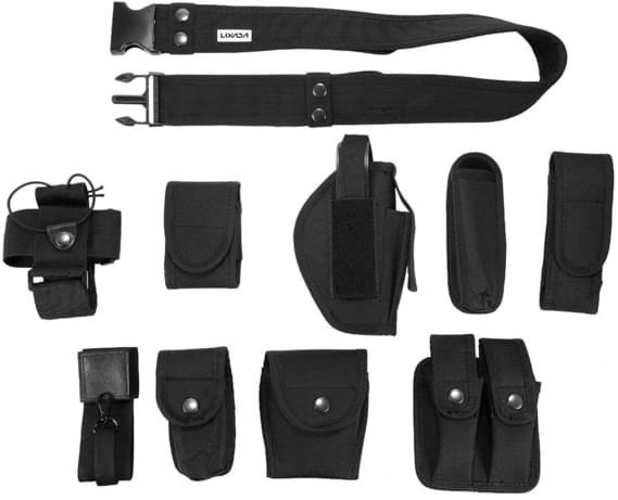 ceinture militaire avec sacoche