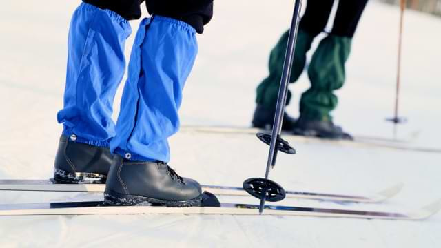 guêtre imperméable ski