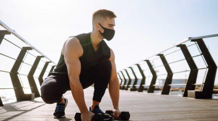 masque sport décathlon