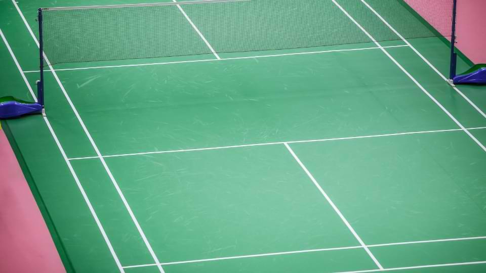 dimension filet badminton