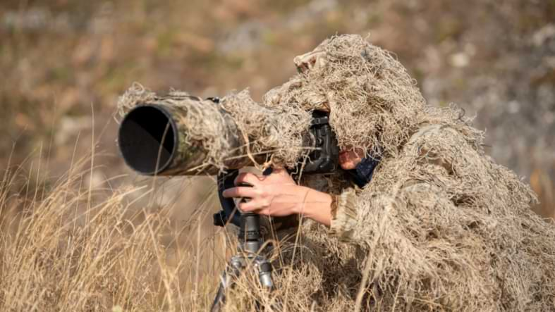 ghillie 3d photographe