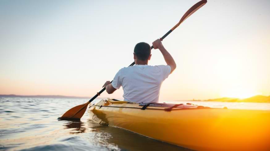 pagaie canoë kayak double