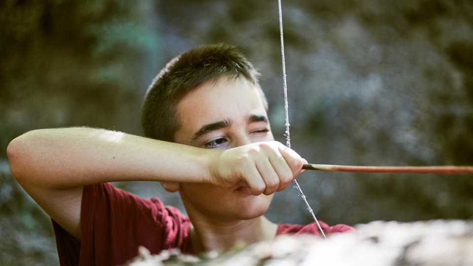 âge enfant tir à l'arc