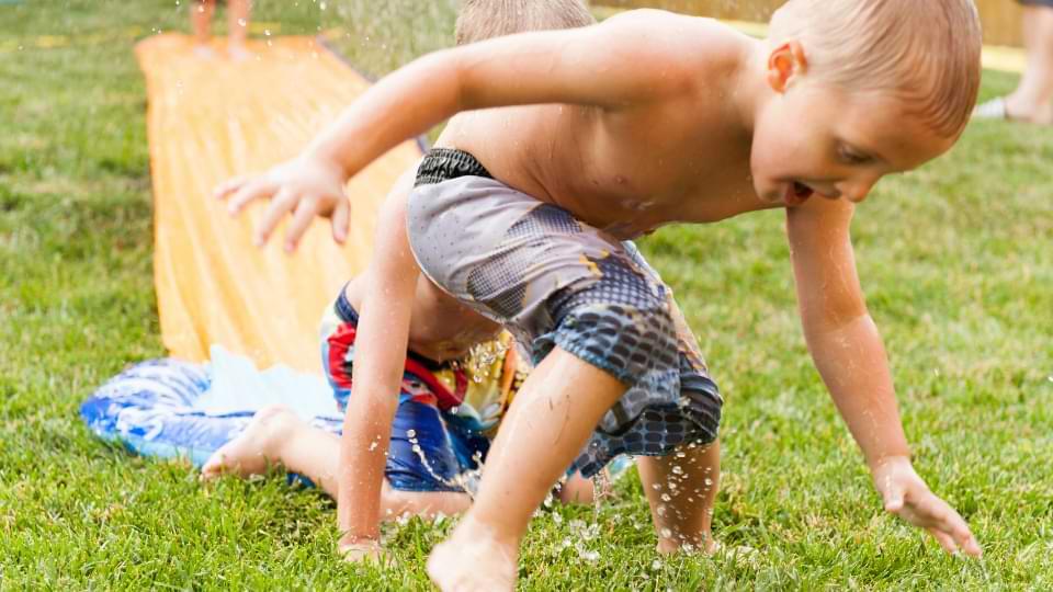 bâche tapis glissant eau