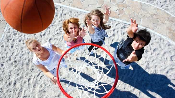 dimensions hauteur panier basket