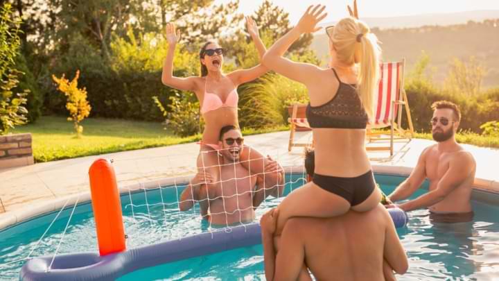 jeux gonflable piscine