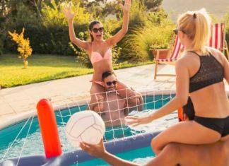 meilleur filet de volley piscine gonflable
