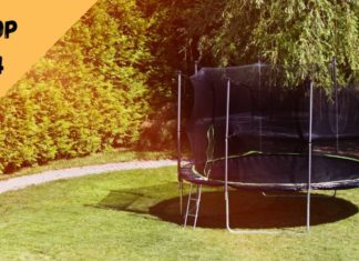 meilleur trampoline pas cher