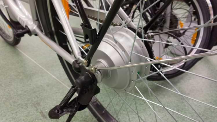 moteur roue électrique vélo