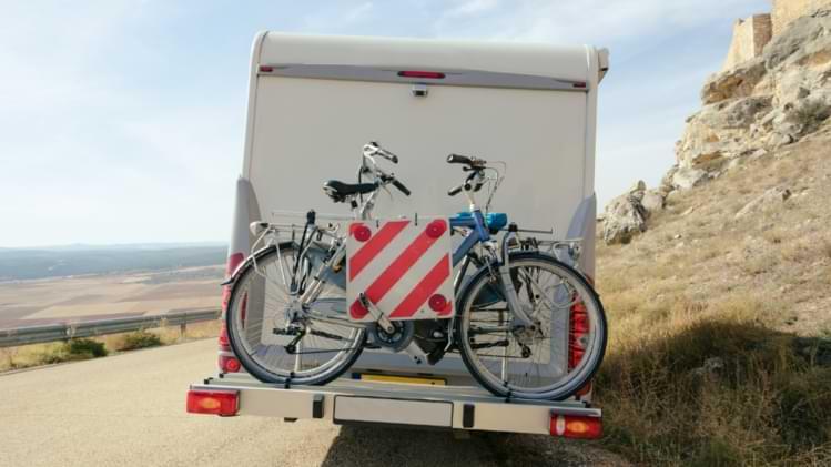 porte vélo électrique camping car
