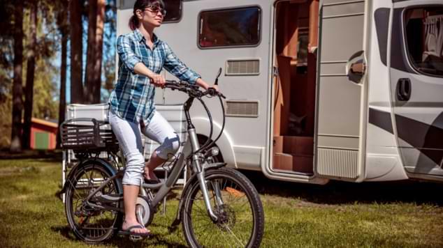 vélo à assistance électrique camping car