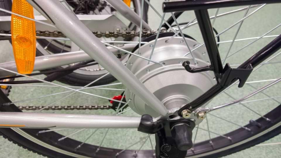 moteur electrique roue moyeu arrière