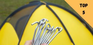 piquet de tente camping sardine