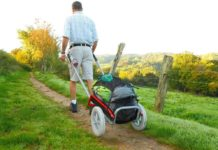 chariot de randonnée