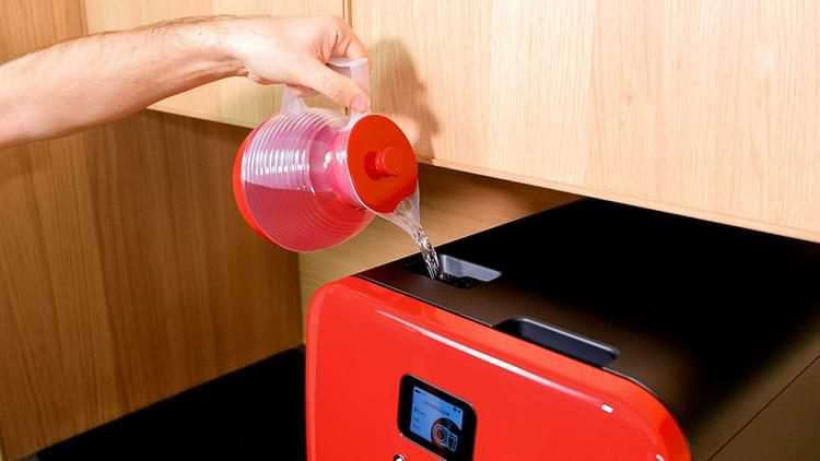 lave vaisselle autonome avec réservoir d'eau