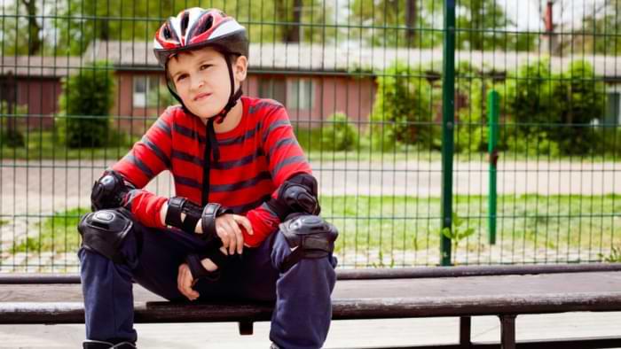 protection sécurité rollers enfant