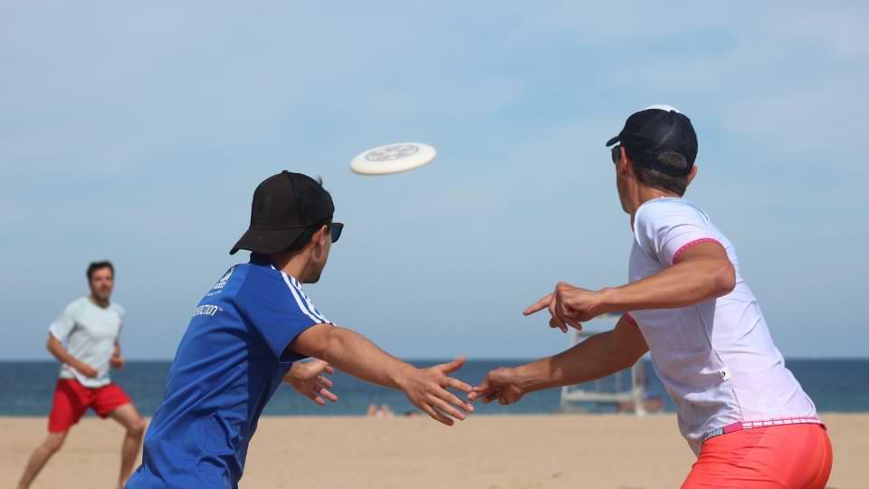 ultimate sport frisbee jeu
