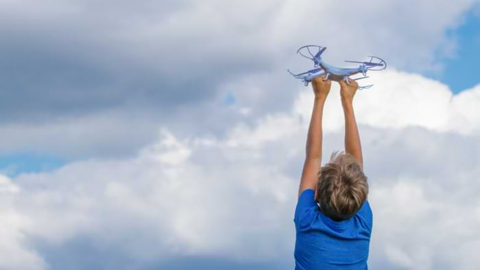 protection hélice mini drone