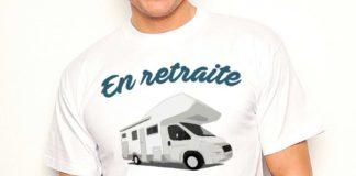 tee shirt camping car humour